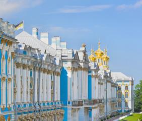 The Catherine Palace in Tsarskoye Selo