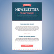 Newsletter design template - 74094102