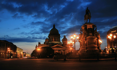 St. Isaac's Cathedral, St. Petersburg ,Russia