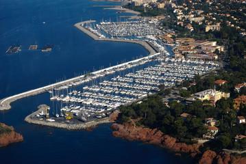 Vue aérienne Alpes-Maritimes et Var