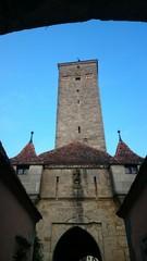 Burgtor mundöffnung rothenburg