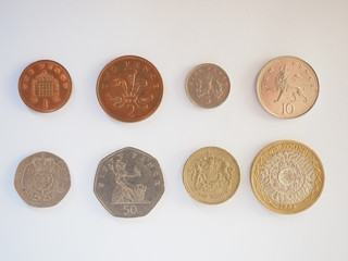 Pound coin series