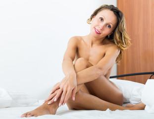 nude girl posing