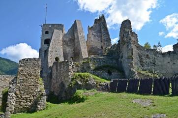 Likava castle ruins