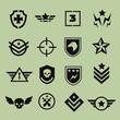 Military symbol icons - 74098142