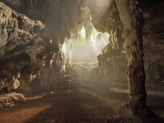 Ambrosio cave at Cuba