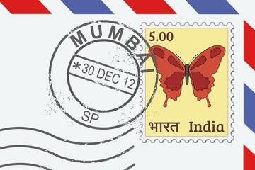 Mumbai stamp