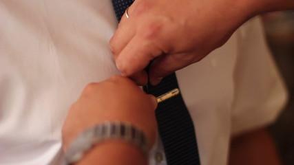Dress tie clips