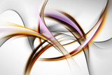 elegant abstract waves © SidorArt