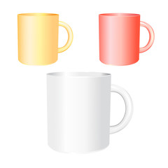 colored mugs examples