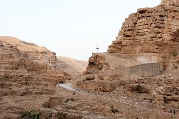 Crux in judean desert