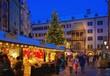 Leinwandbild Motiv Innsbruck Weihnachtsmarkt - Innsbruck christmas market 06