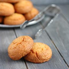 """Dutch almond cookies called """"bitterkoekjes"""""""