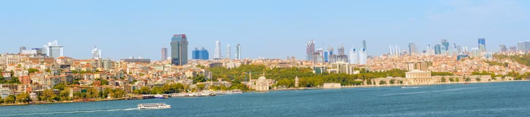 Panoramic view at Istanbul, Turkey.