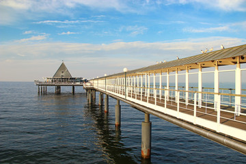 Pier in Heringsdorf, Germany