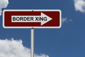 The way to the Border Crossing