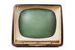 Retro TV with wooden case - 74103587