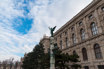 Statue on the Maria Theresien Platz, Vienna