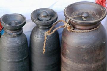 Pottery vessels. Pokhara-Nepal. 0756