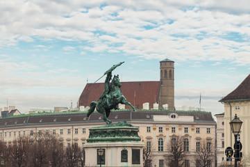 Statue of Archduke Charles, Heldenplatz, Vienna