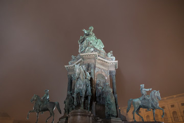 Maria Theresa Monument, Vienna