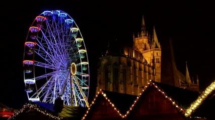 Erfurt Weihnachtsmarkt vid 01