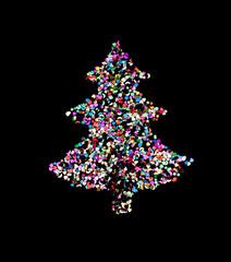 New year spruce
