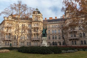 Zrinyi Miklos monument, Budapest
