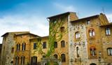 San Gimignano historical buildings - 74106504