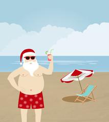 Noel in the beach