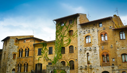 San Gimignano historical buildings