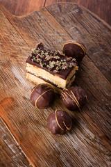 Delicious chocolate desserts
