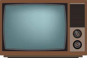 Old TV. Vector illustration