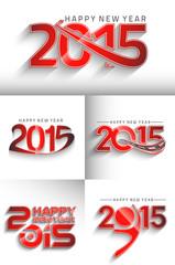 New Year 2015 test designs