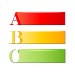 alphabet labels