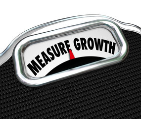 Measure Growth Words Scale Increase Improve Higher Level