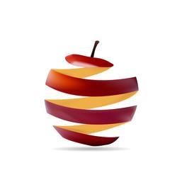 peel of an apple