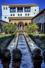 Generallife Alhambra White Palace Garden Granada Andalusia