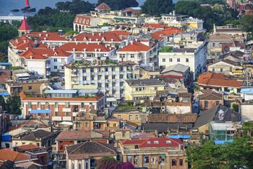 Xiamen, China Cityscape