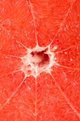 Full frame take of a ripe grapefruit
