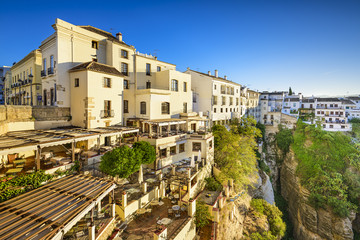 Ronda, Spain Cliffside Town