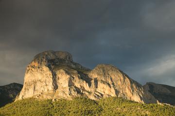 Costa Blanca mountains