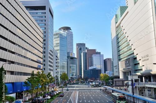 Foto op Plexiglas Japan 大阪駅前
