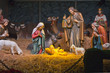 Leinwanddruck Bild - The Nativity scene.