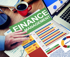Finance Business Management Money Working Concept