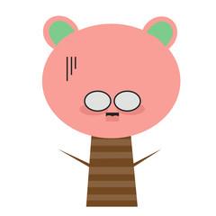 Feelings and Emotions antsy and tree cartoon