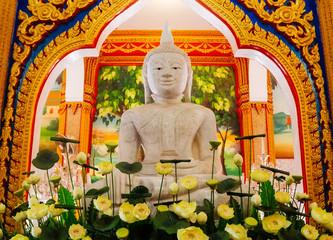 Buddha statue in temple
