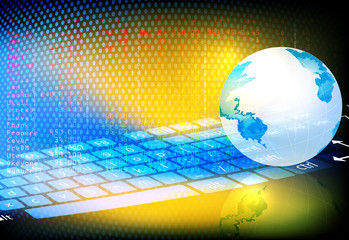Trading,business concepts technology background
