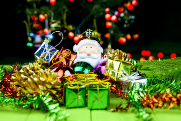 Christmas Decorations and santa