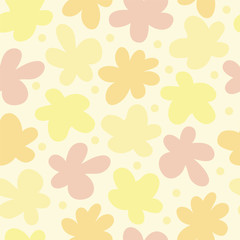 Seamless vector color funny blur pattern